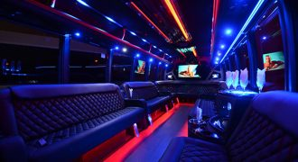 40 passenger party bus rental