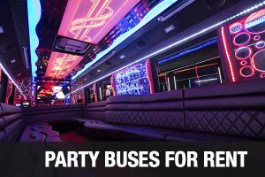 Airport Transportation Party Bus Orlando