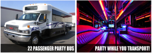 Prom Homecoming Party Bus Rentals Orlando